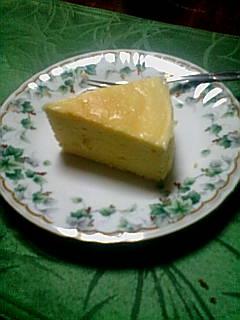 俺のチーズケーキ!